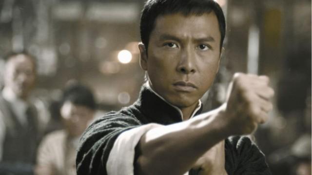 Donnie Yen with Fist